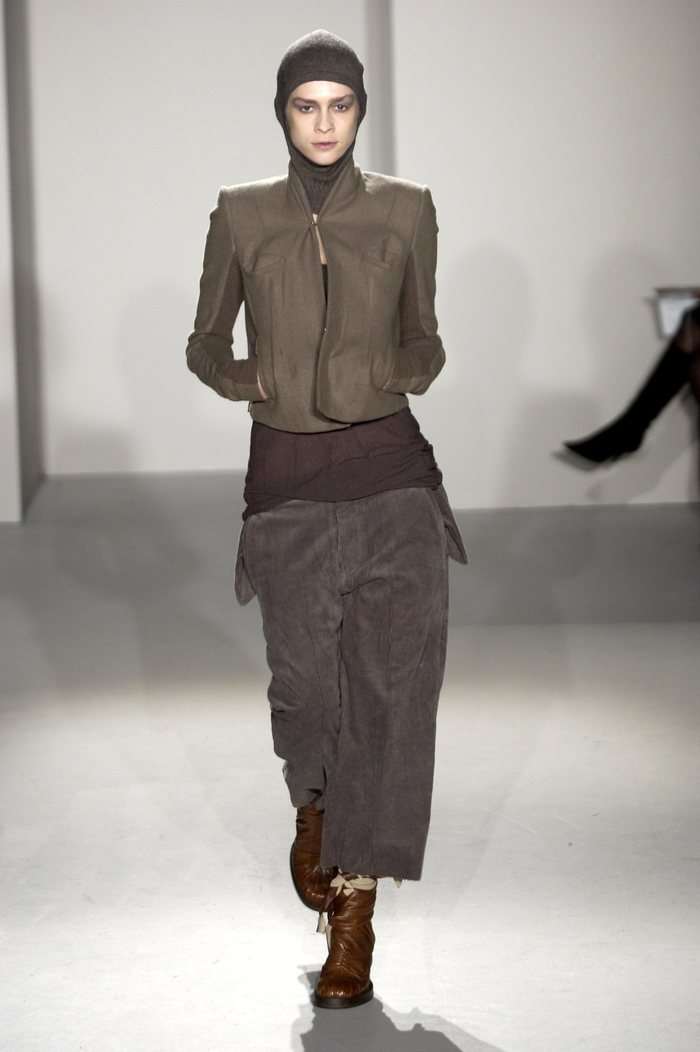 Collections cover rick owens fw02 sparrows runway 02