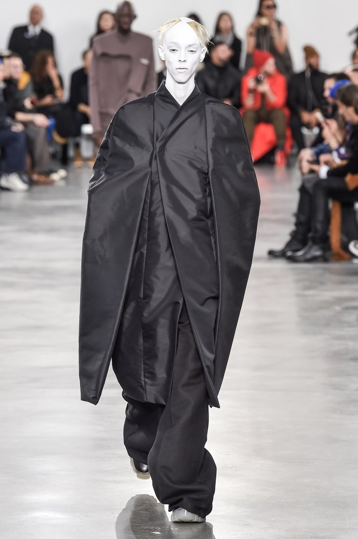 Collections cover rick owens menswear fw18 paris looks 29