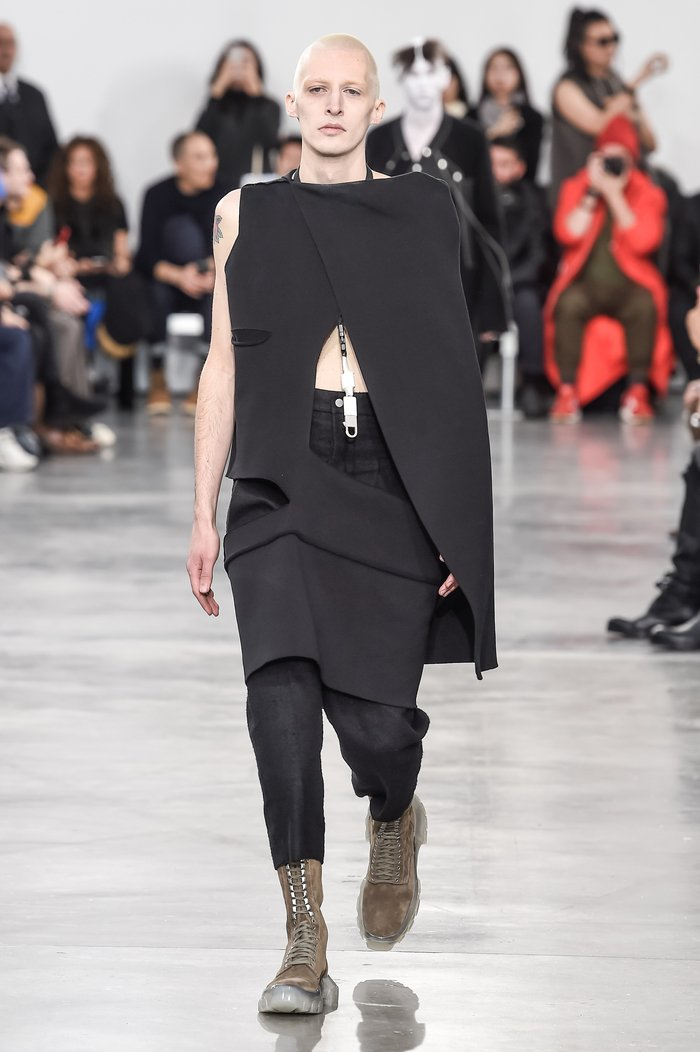 Collections cover rick owens menswear fw18 paris looks 14