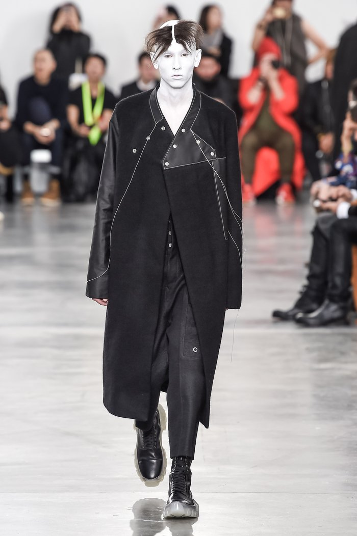 Collections cover rick owens menswear fw18 paris looks 15