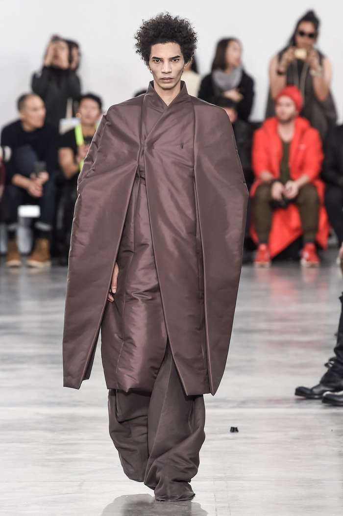 Collections cover rick owens menswear fw18 paris looks 31