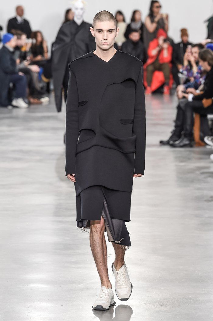 Collections cover rick owens menswear fw18 paris looks 28