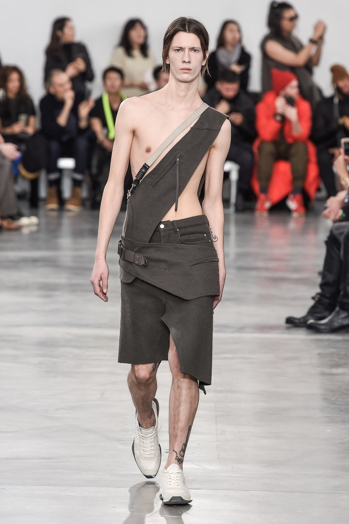 Collections cover rick owens menswear fw18 paris looks 2