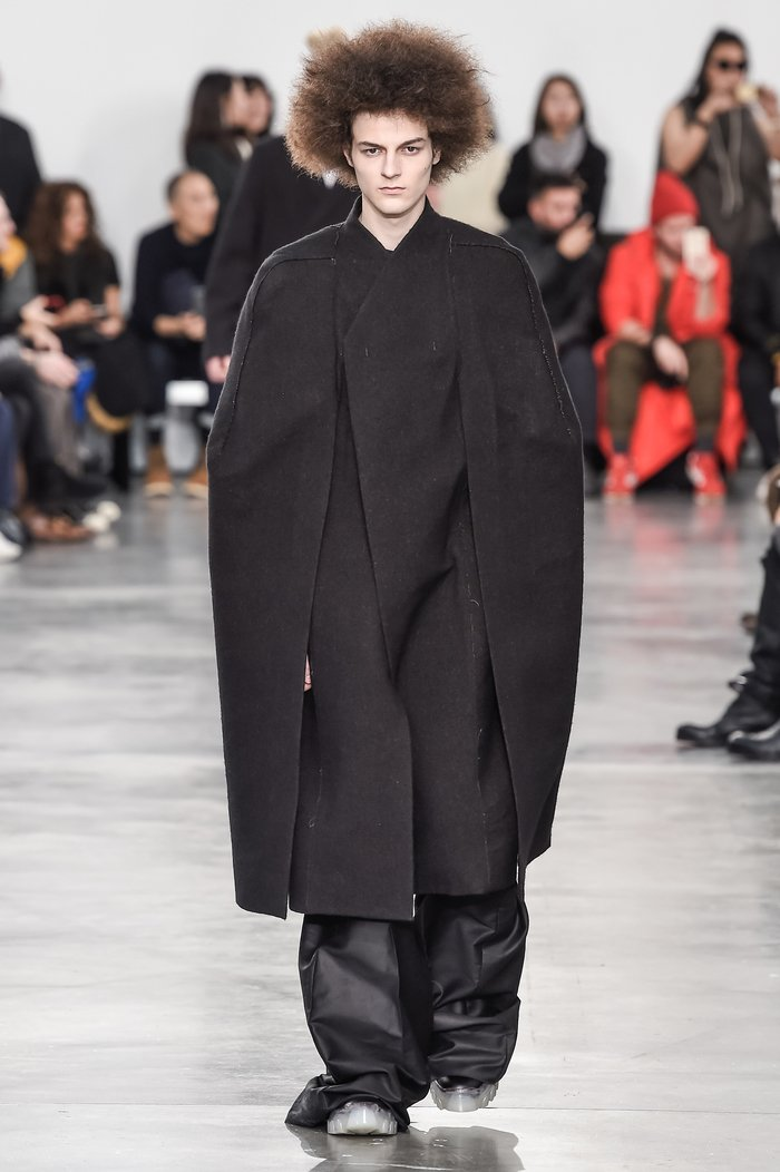 Collections cover rick owens menswear fw18 paris looks 24