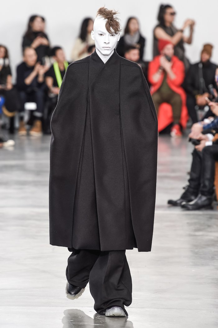 Collections cover rick owens menswear fw18 paris looks 9
