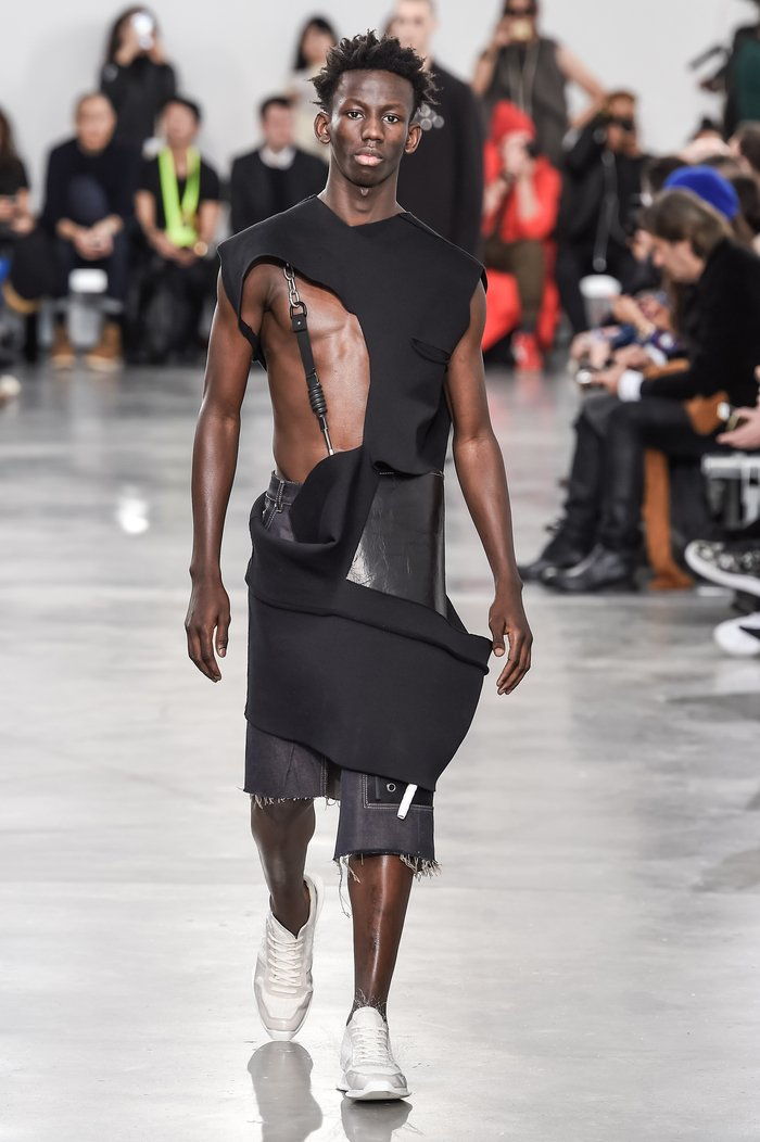 Collections cover rick owens menswear fw18 paris looks 16