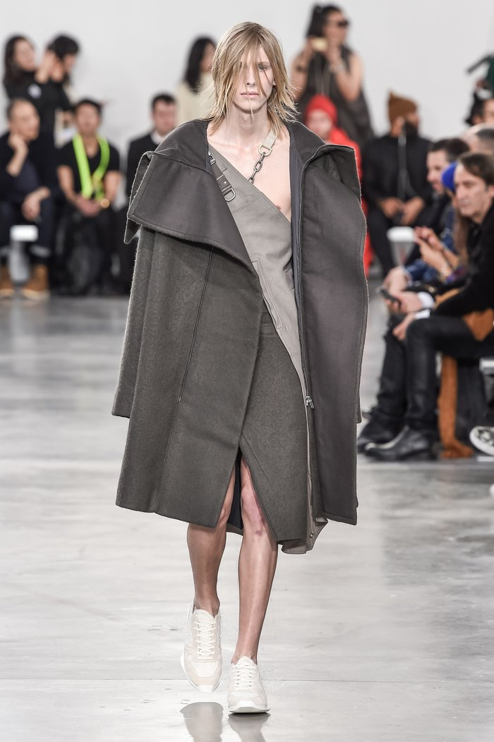 Collections cover rick owens menswear fw18 paris looks 36
