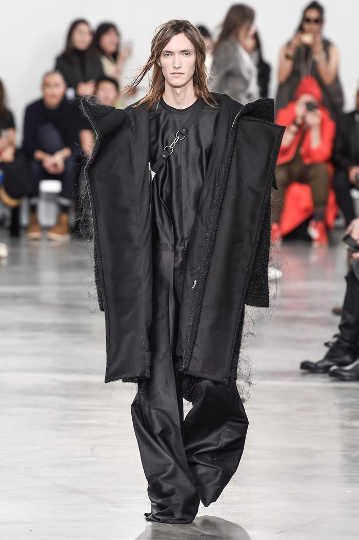 Collections cover rick owens menswear fw18 paris looks 40