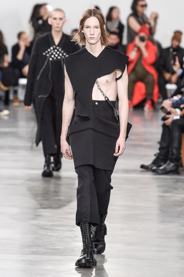 Collections cover rick owens menswear fw18 paris looks 10