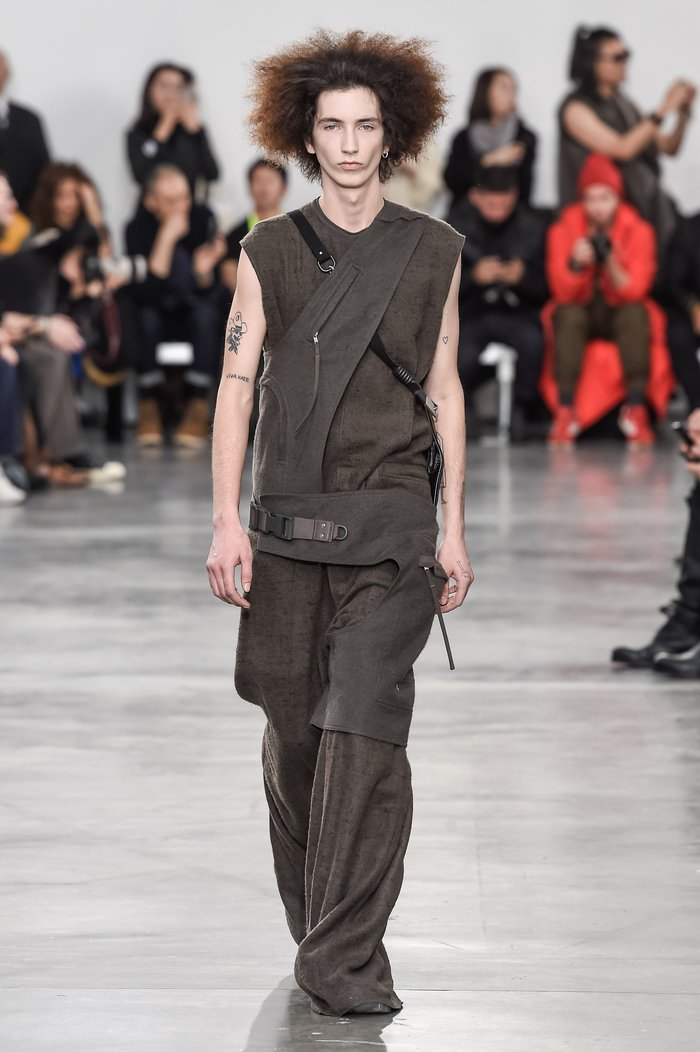Collections cover rick owens menswear fw18 paris looks 5