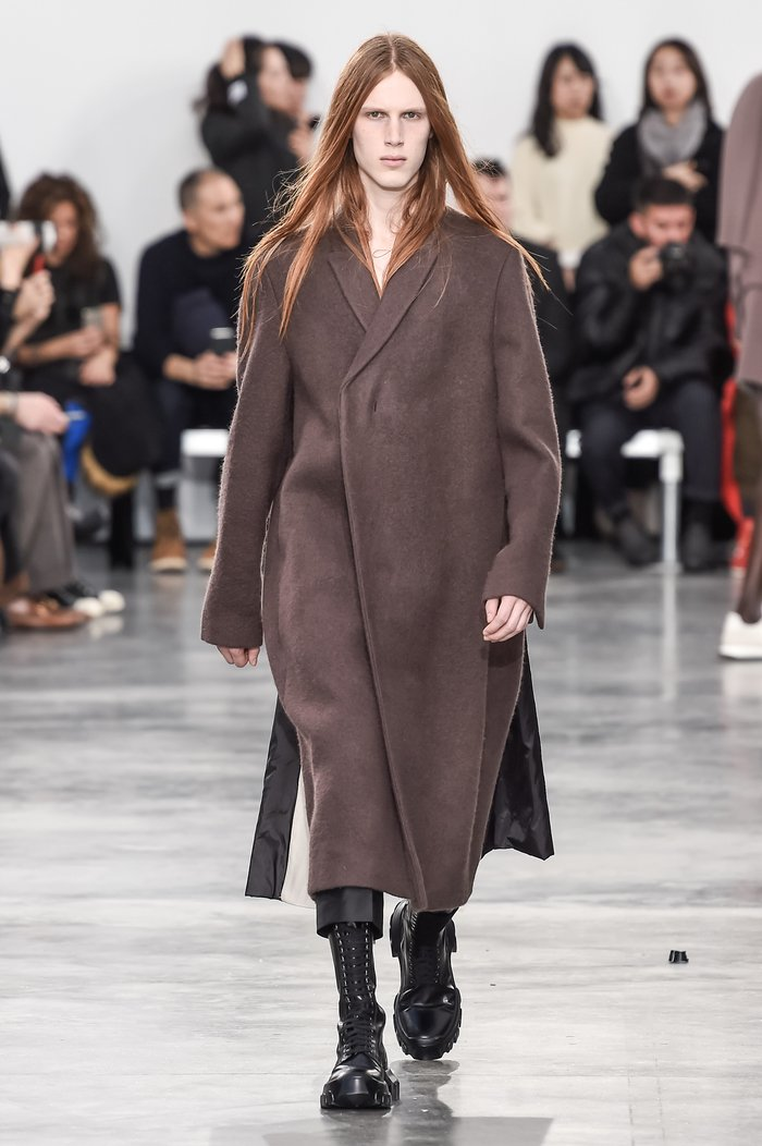 Collections cover rick owens menswear fw18 paris looks 32