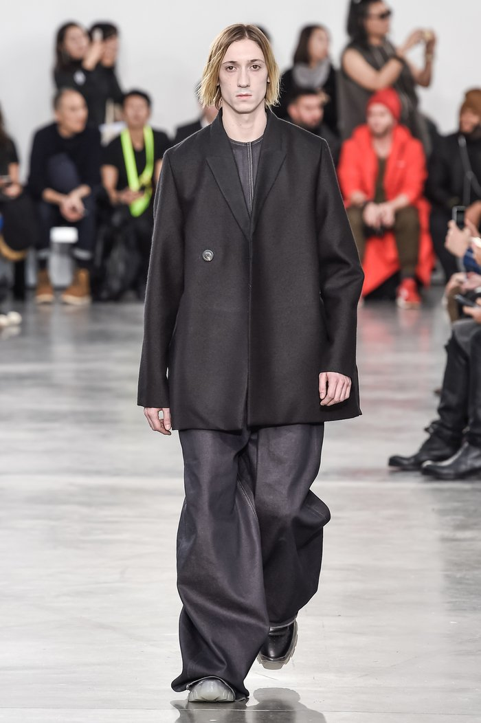 Collections cover rick owens menswear fw18 paris looks 26