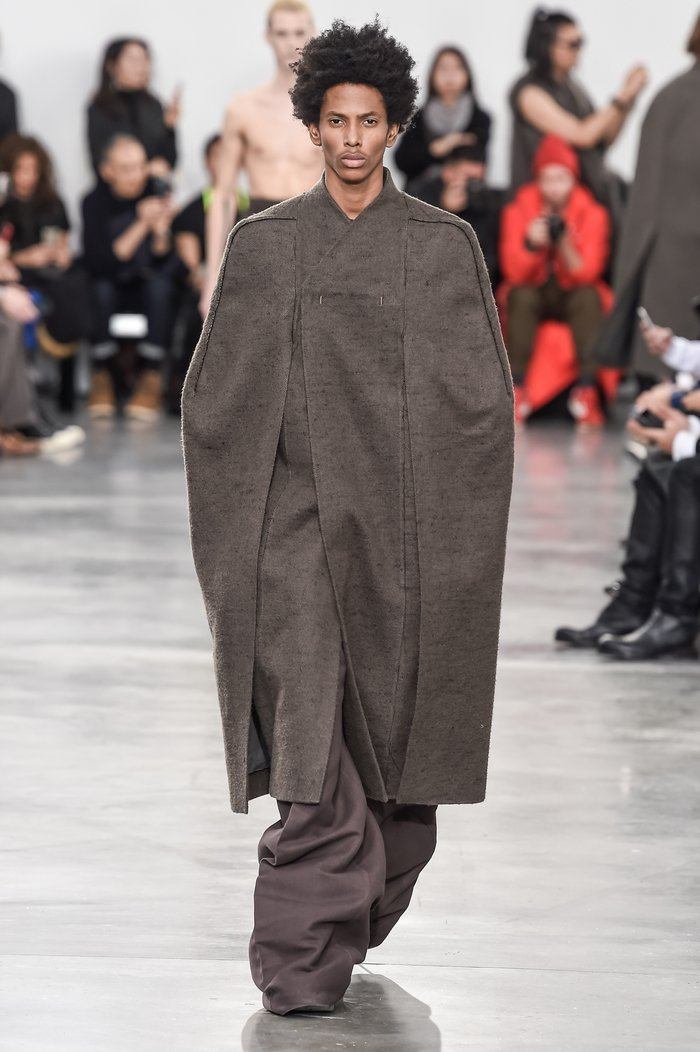 Collections cover rick owens menswear fw18 paris looks 6