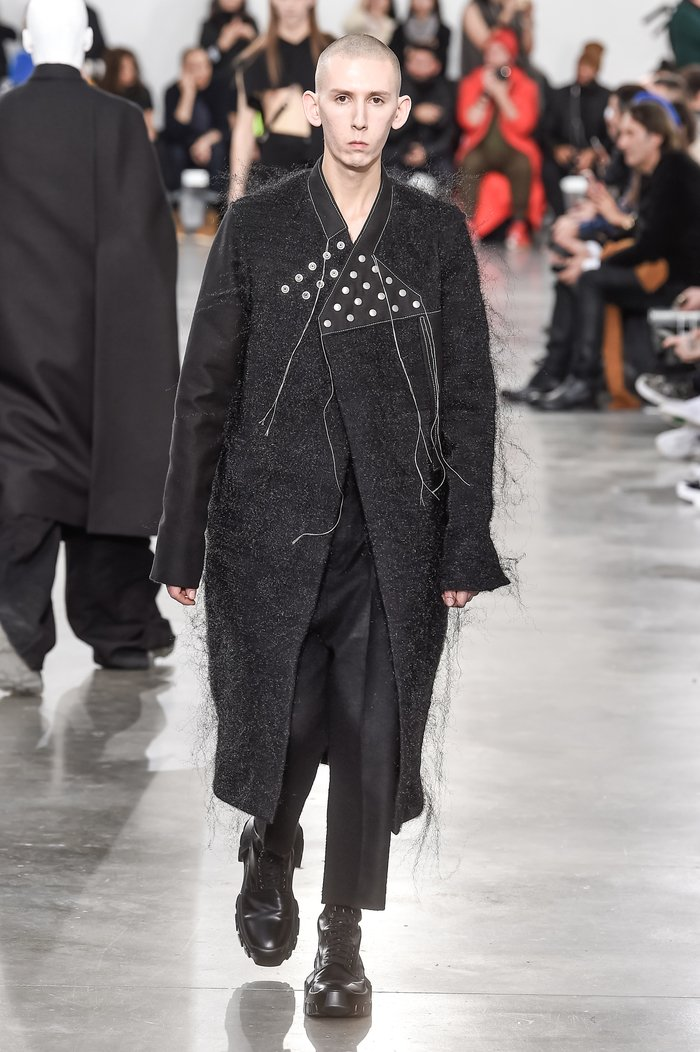Collections cover rick owens menswear fw18 paris looks 11
