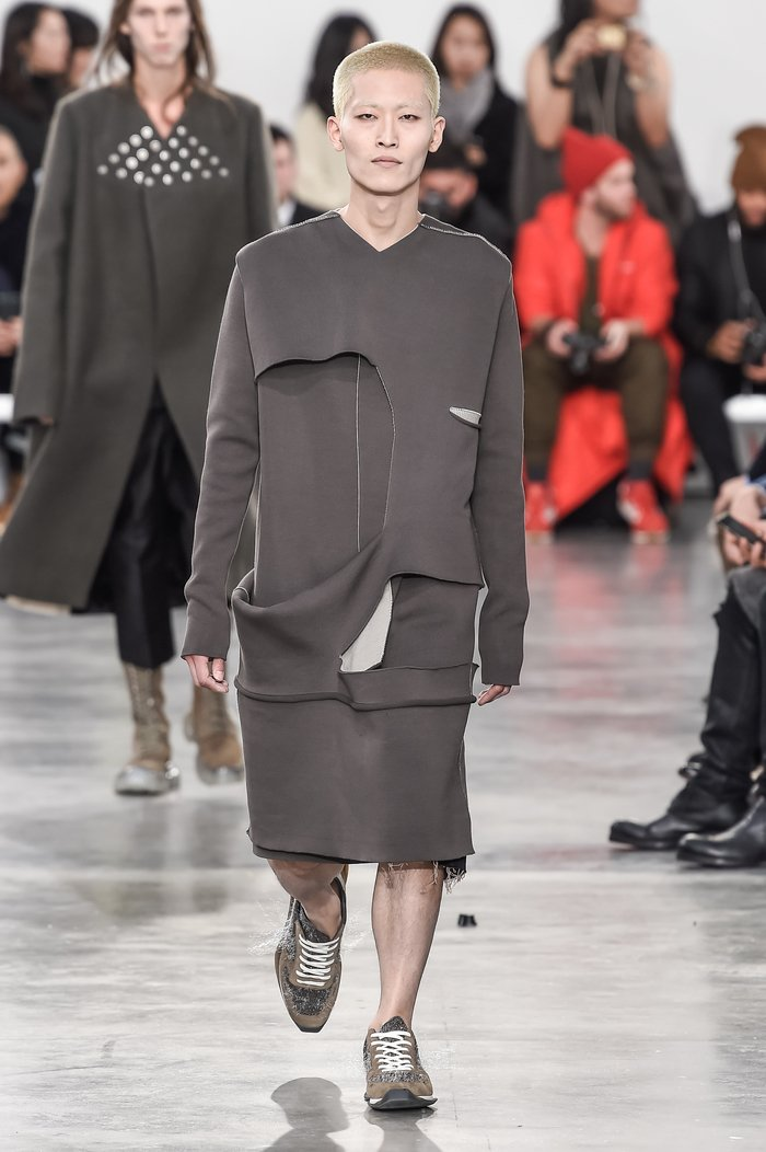 Collections cover rick owens menswear fw18 paris looks 33
