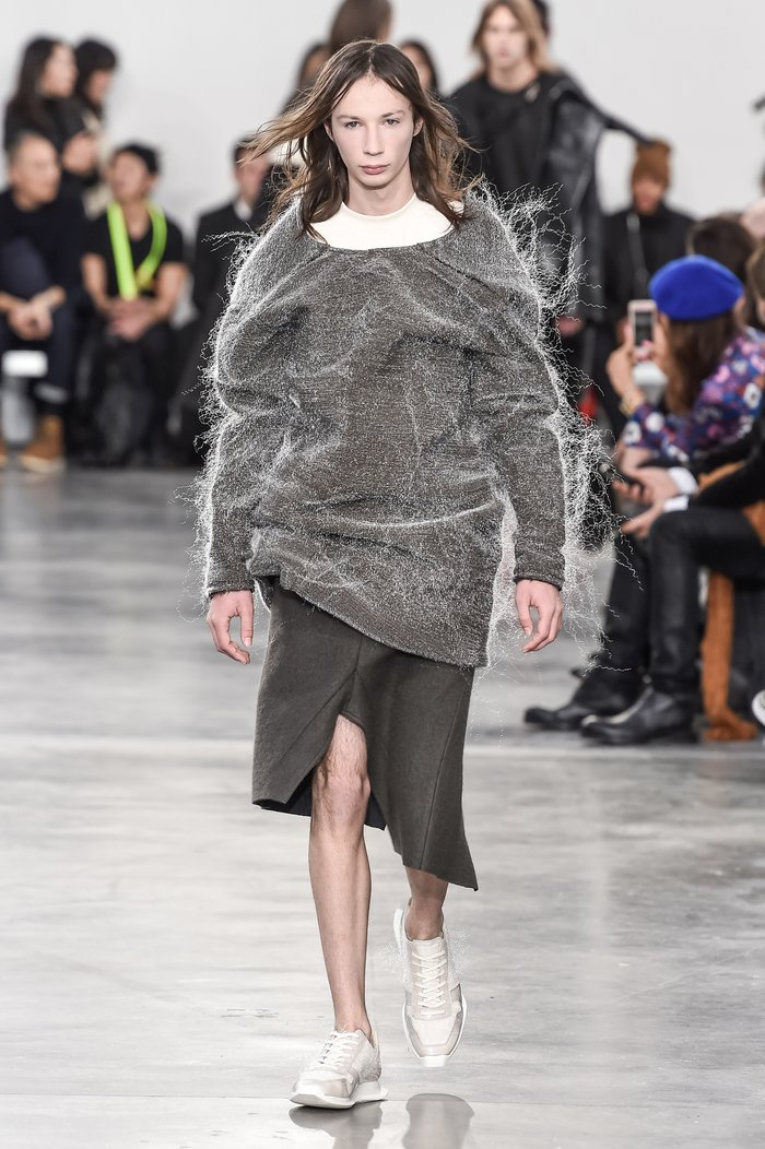 Collections cover rick owens menswear fw18 paris looks 37