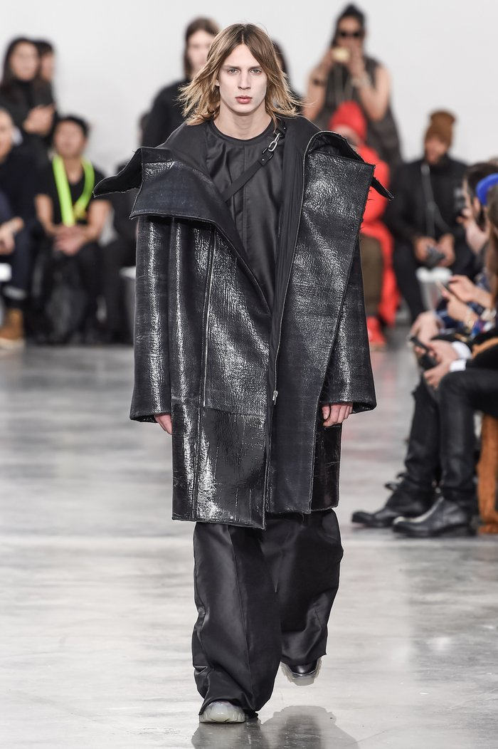 Collections cover rick owens menswear fw18 paris looks 38