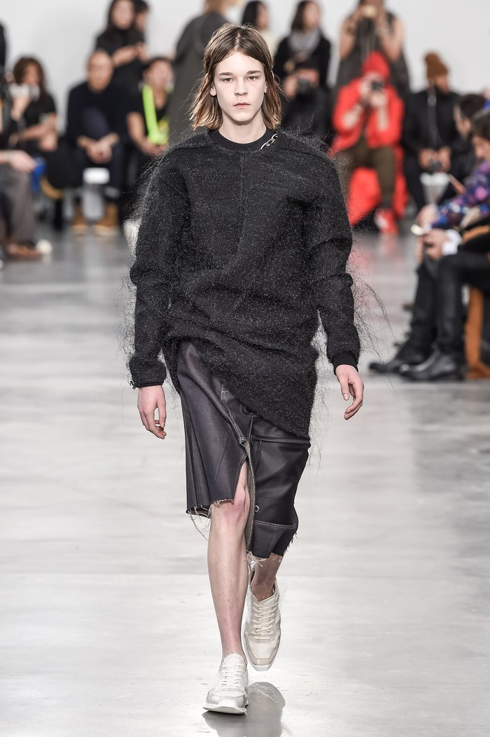 Collections cover rick owens menswear fw18 paris looks 39
