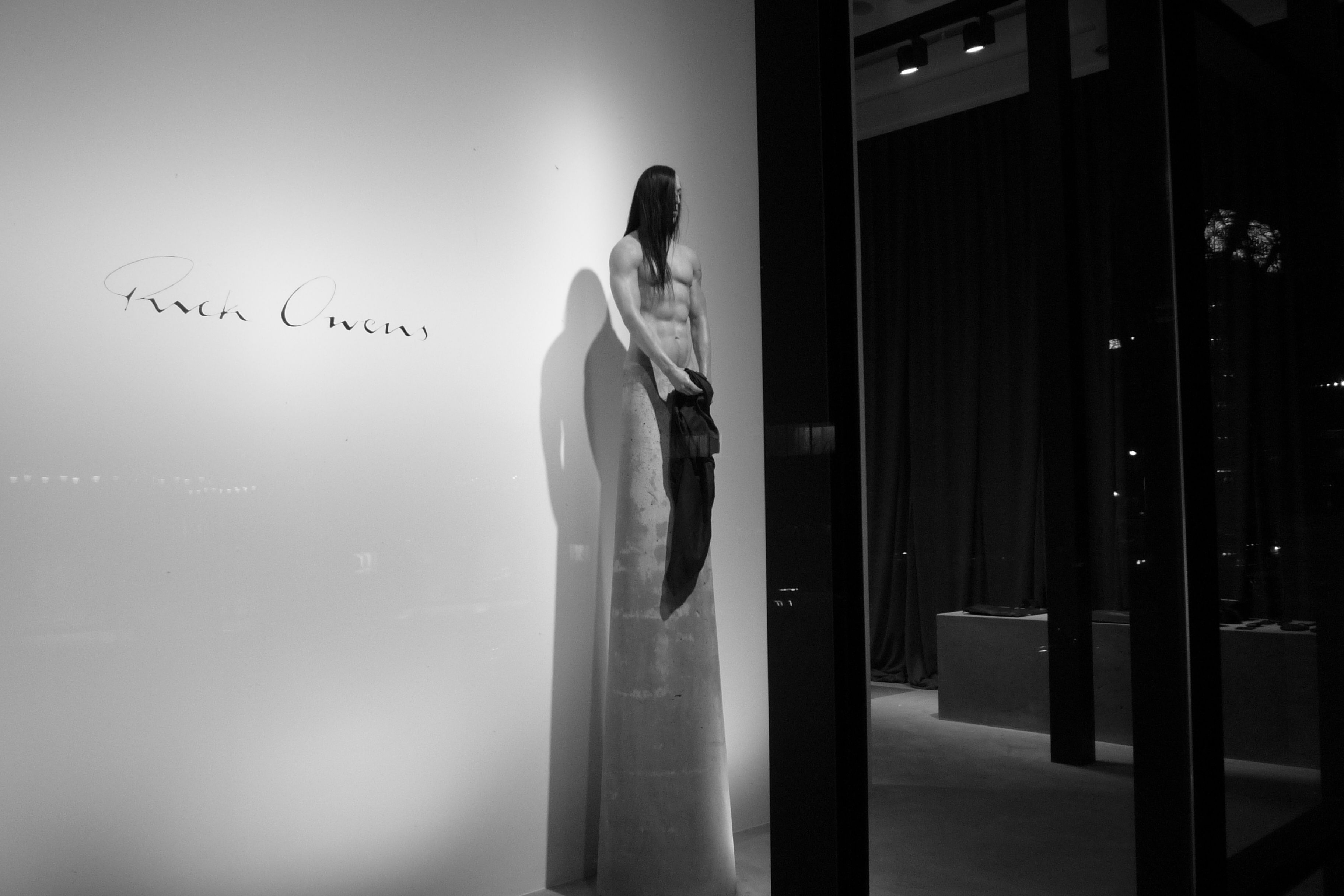 Original rick owens seoul flagship boutique 01