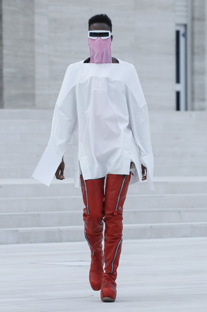 Collections cover rick owens rtw ss21 0045