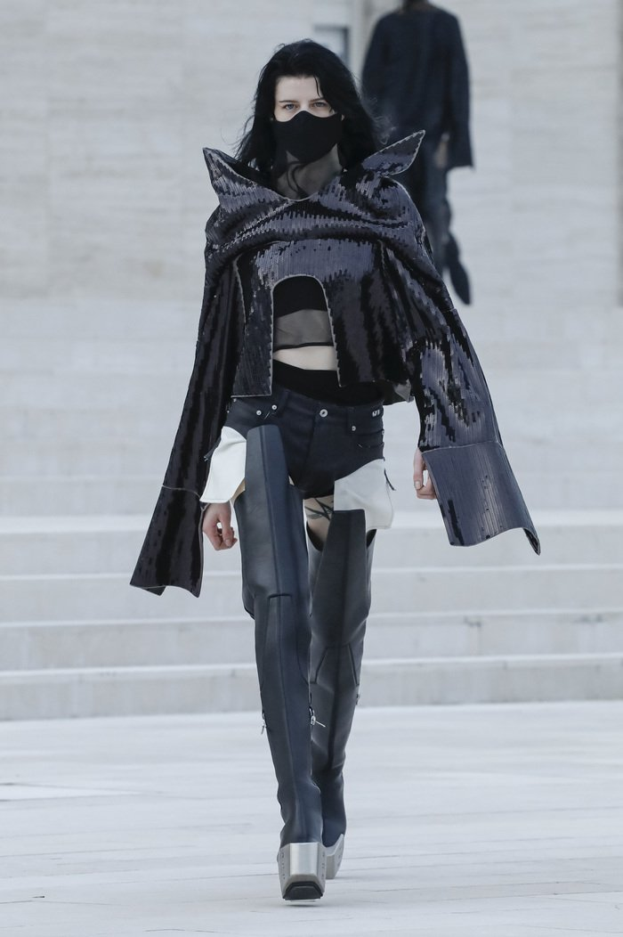 Collections cover rick owens rtw ss21 0042