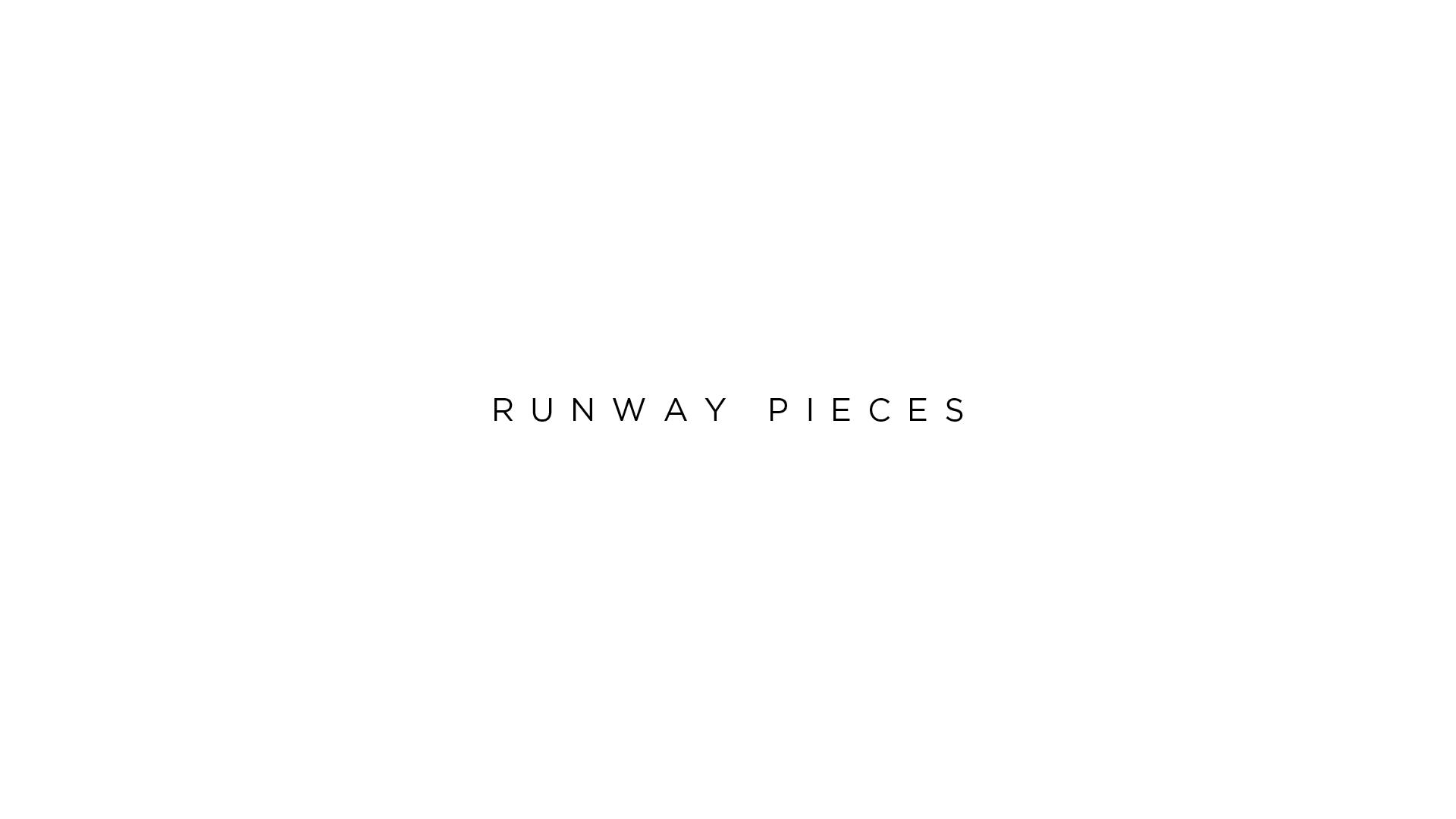 Runway pieces