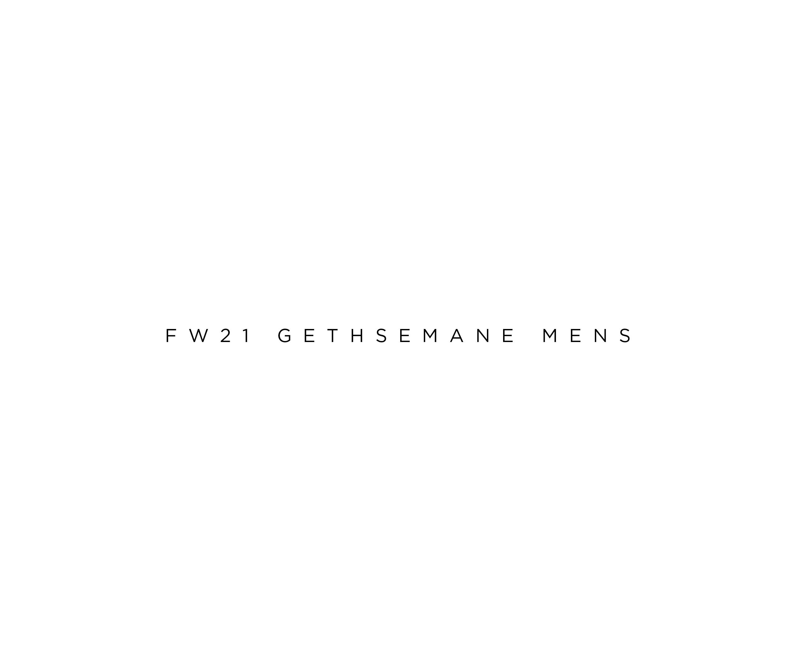 Fw21 gethsemane mens