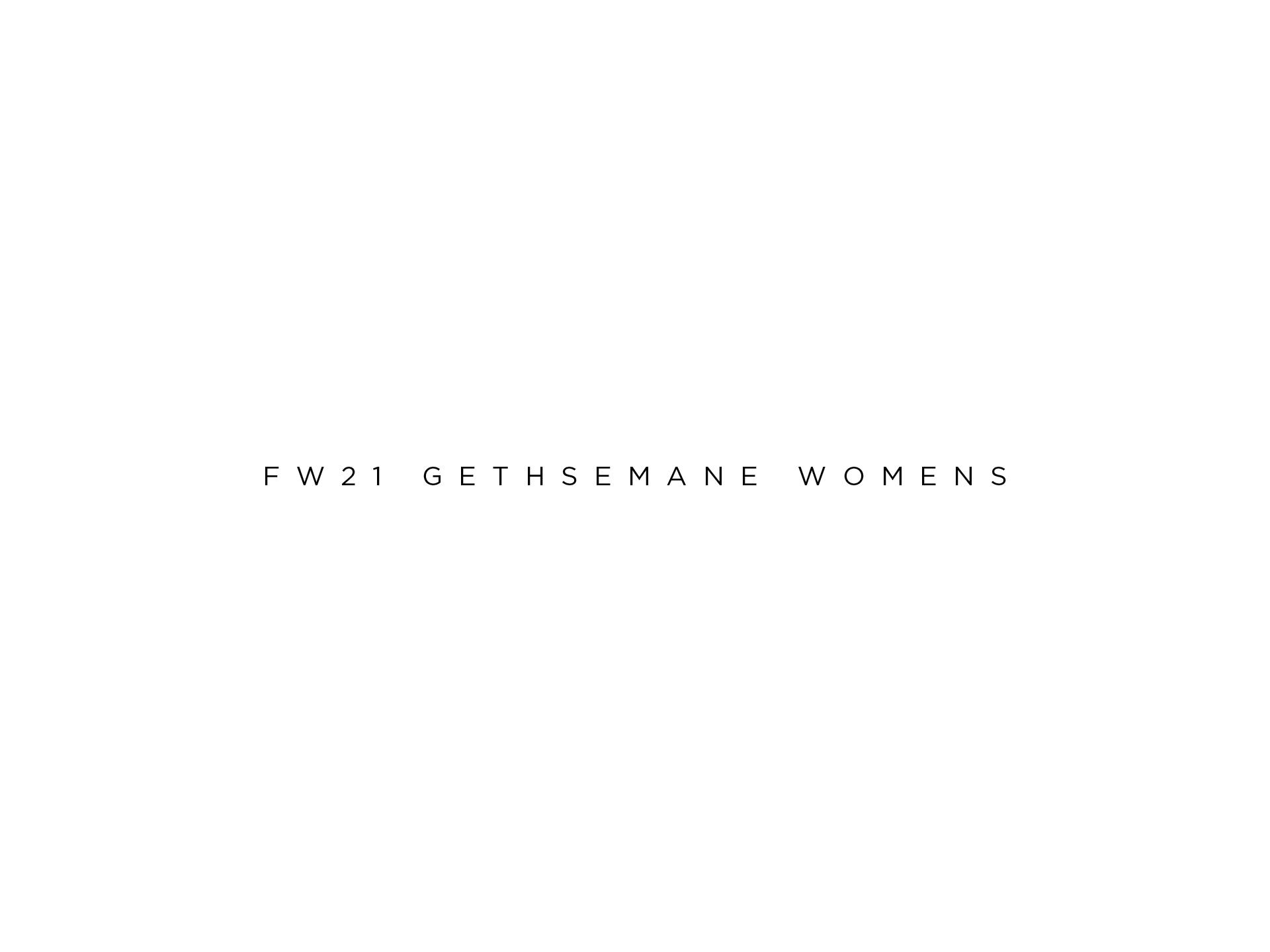 Fw21 gethsemane womens