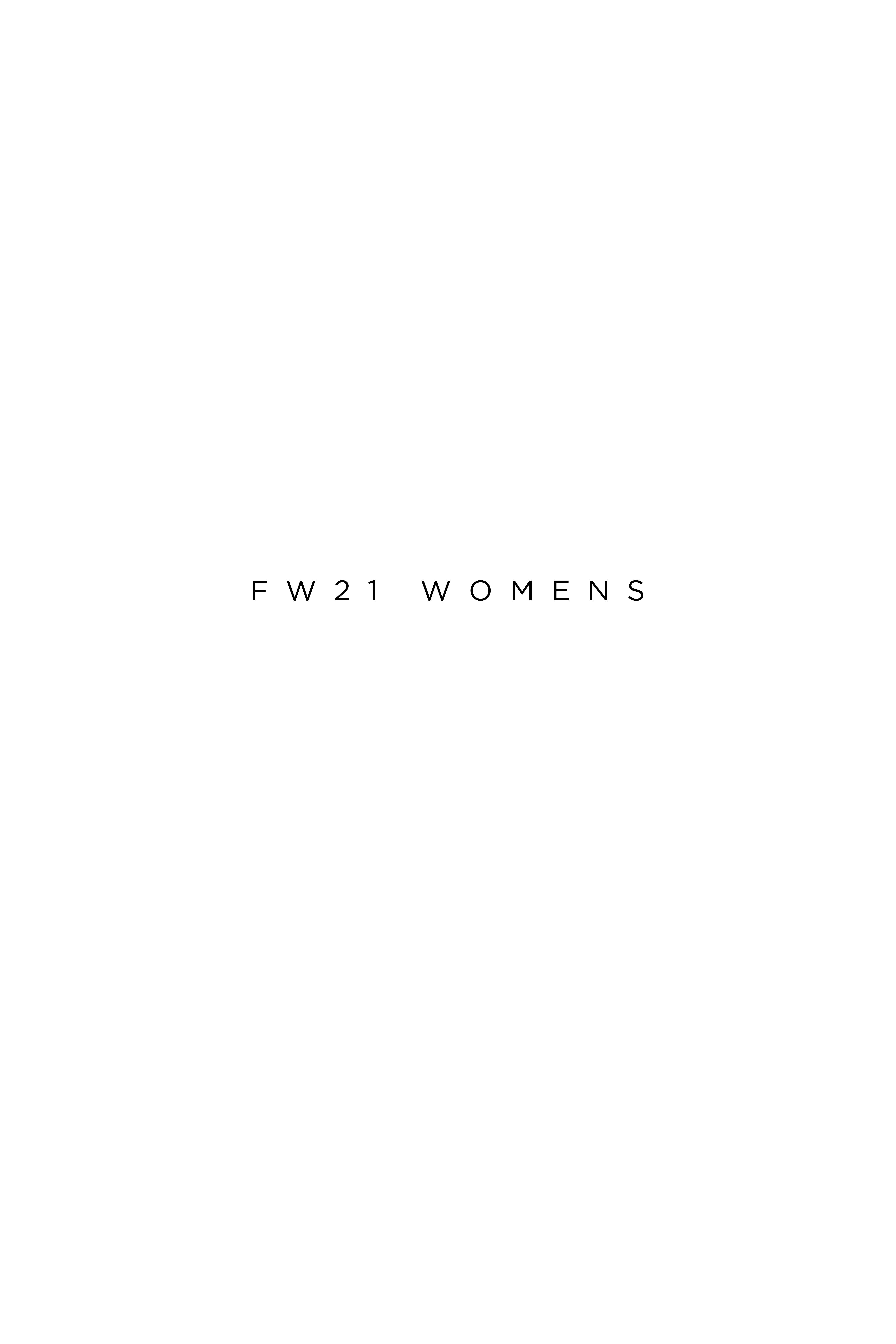 Fw21 womens