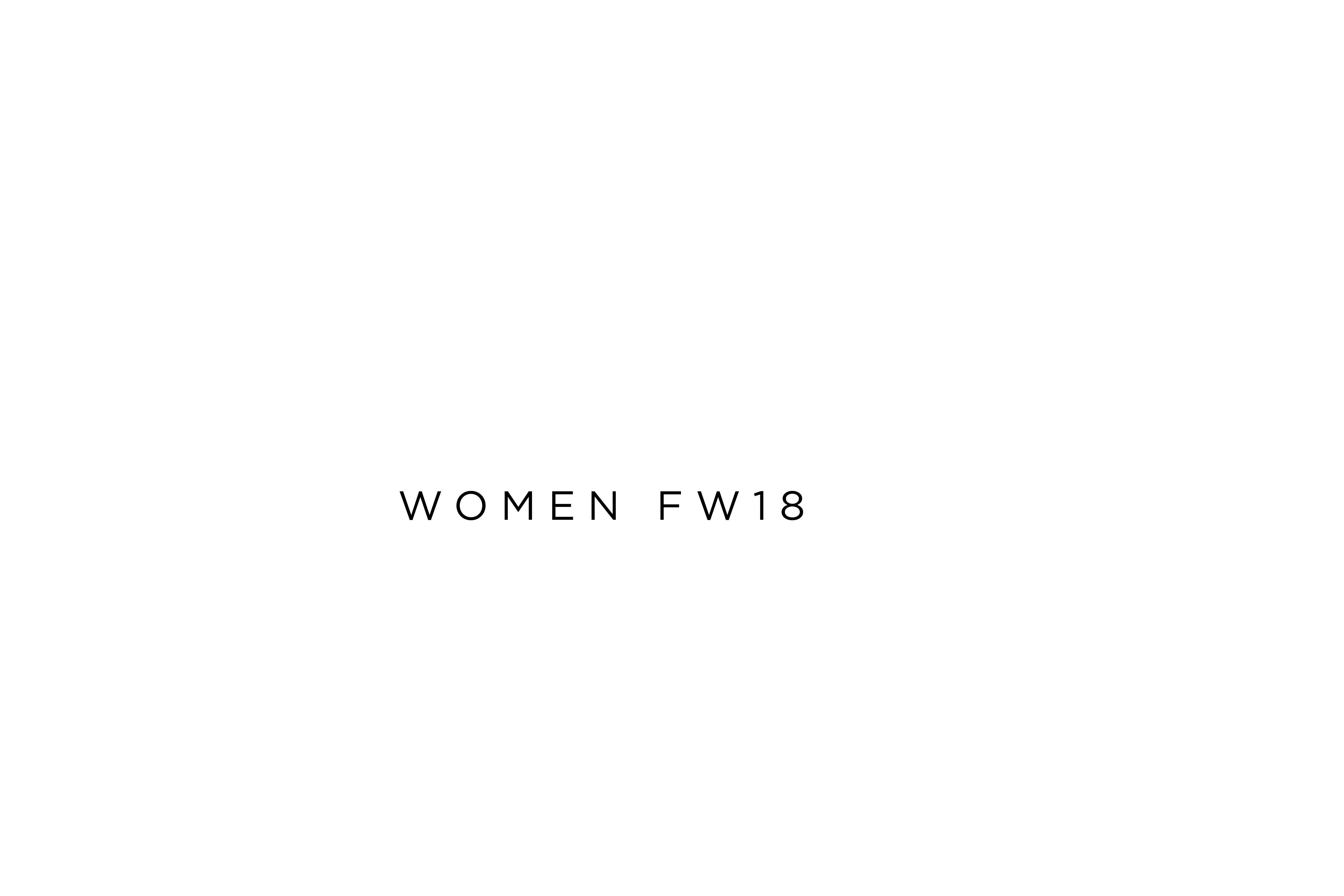 Women fw18