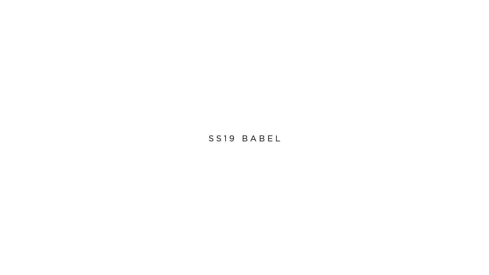 ss19 babel