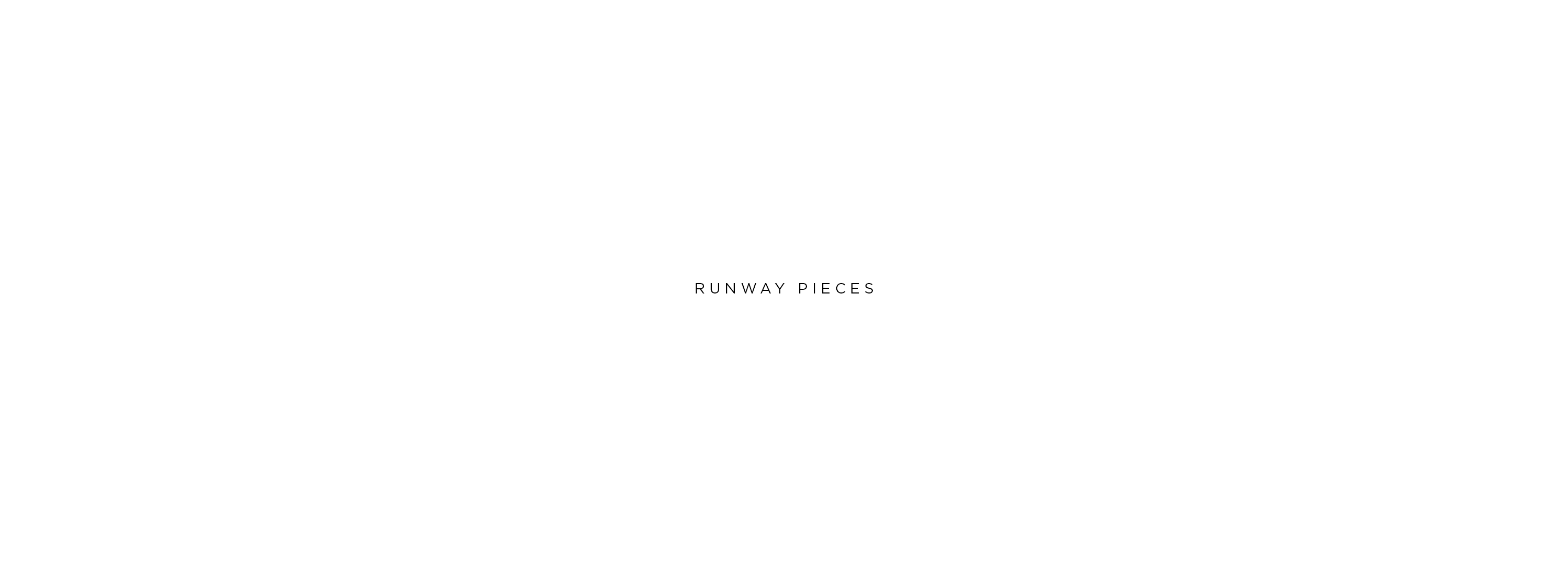 Runway pieces