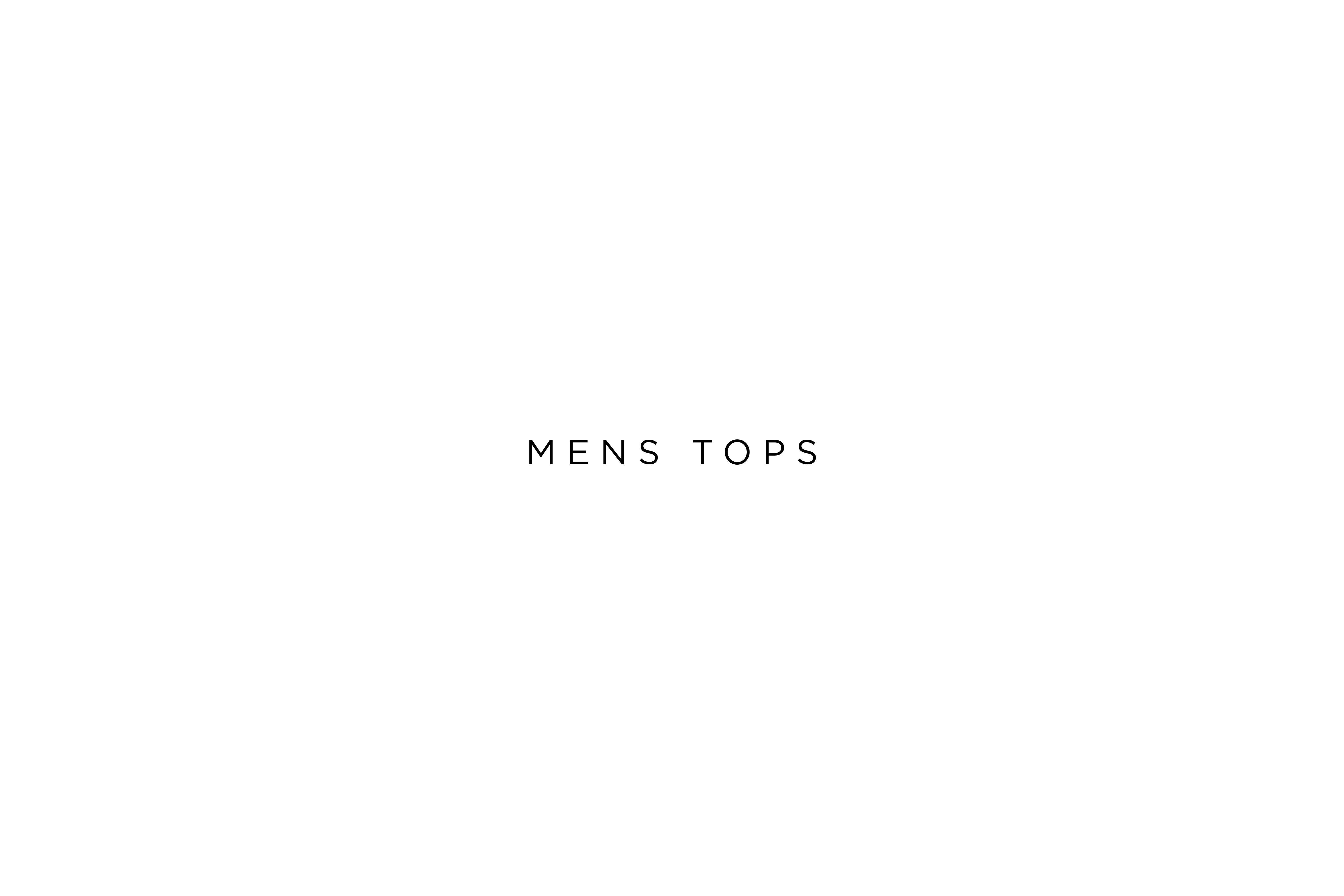 Men tops 3