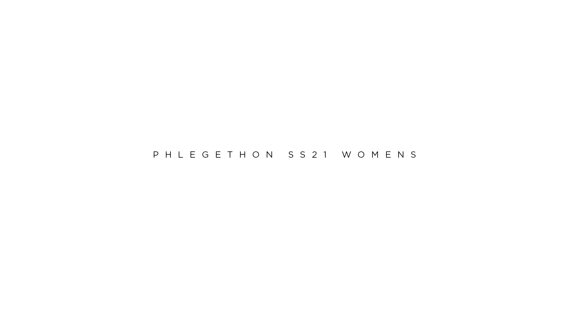Phlegethon ss21 womens