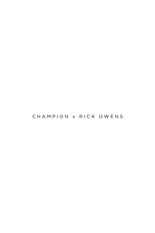 Champion x rick owens 2