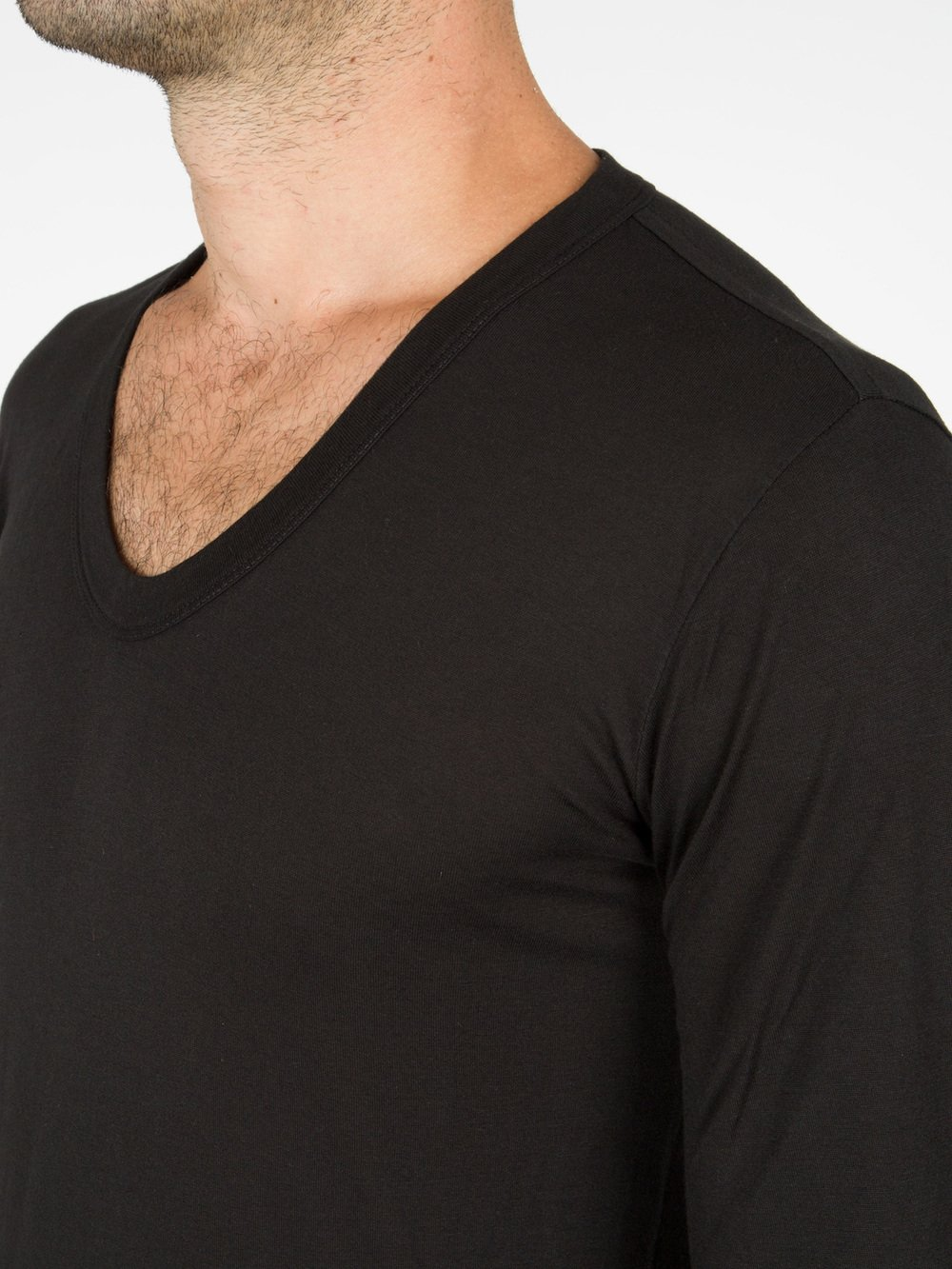 RICK OWENS - LONG SLEEVE TEE