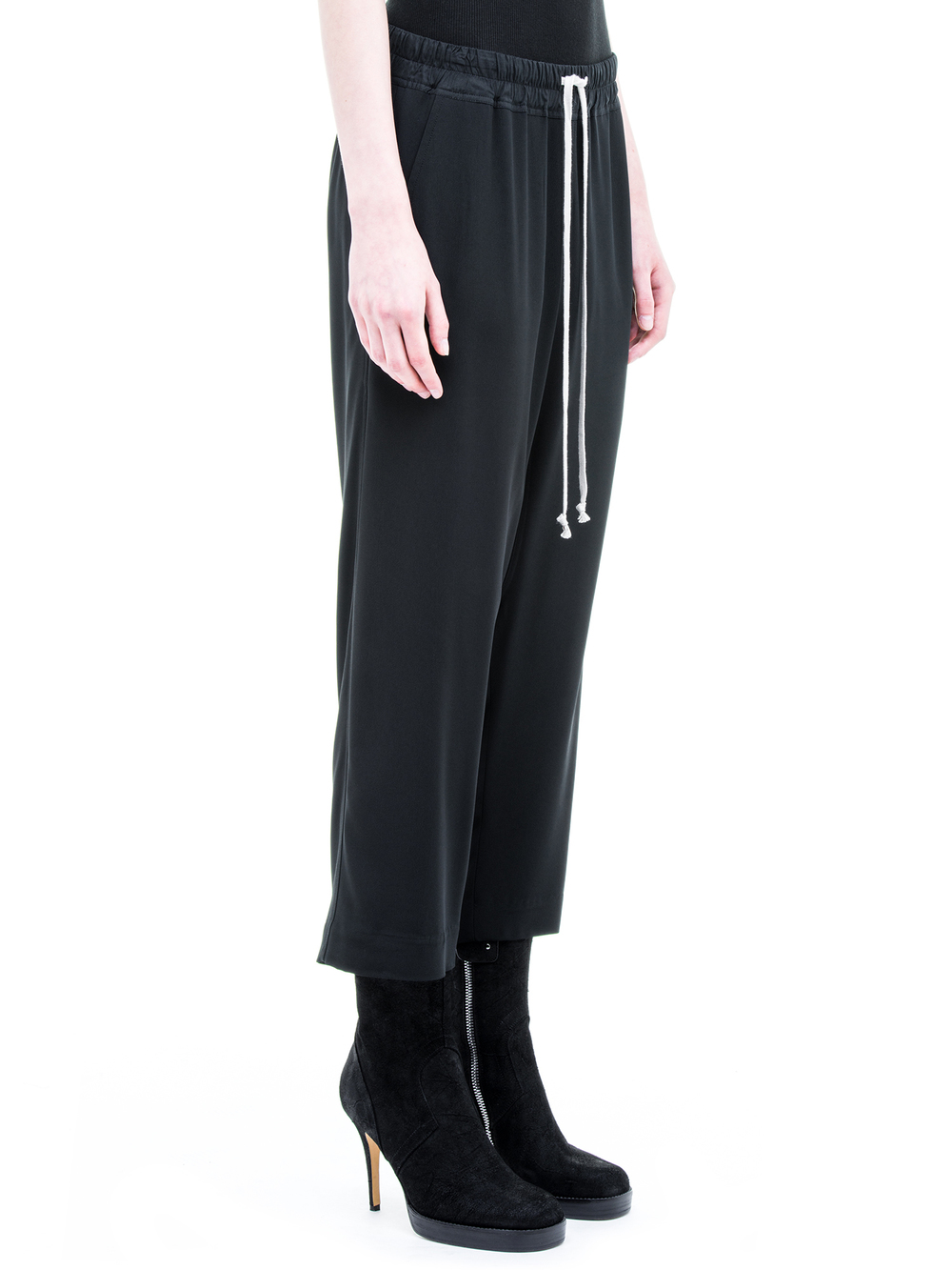 RICK OWENS CROPPED PANTS