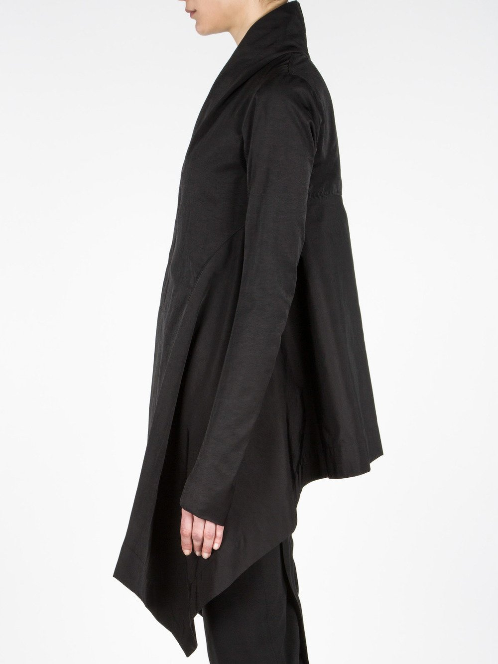 RICK OWENS - OBLIQUE COAT