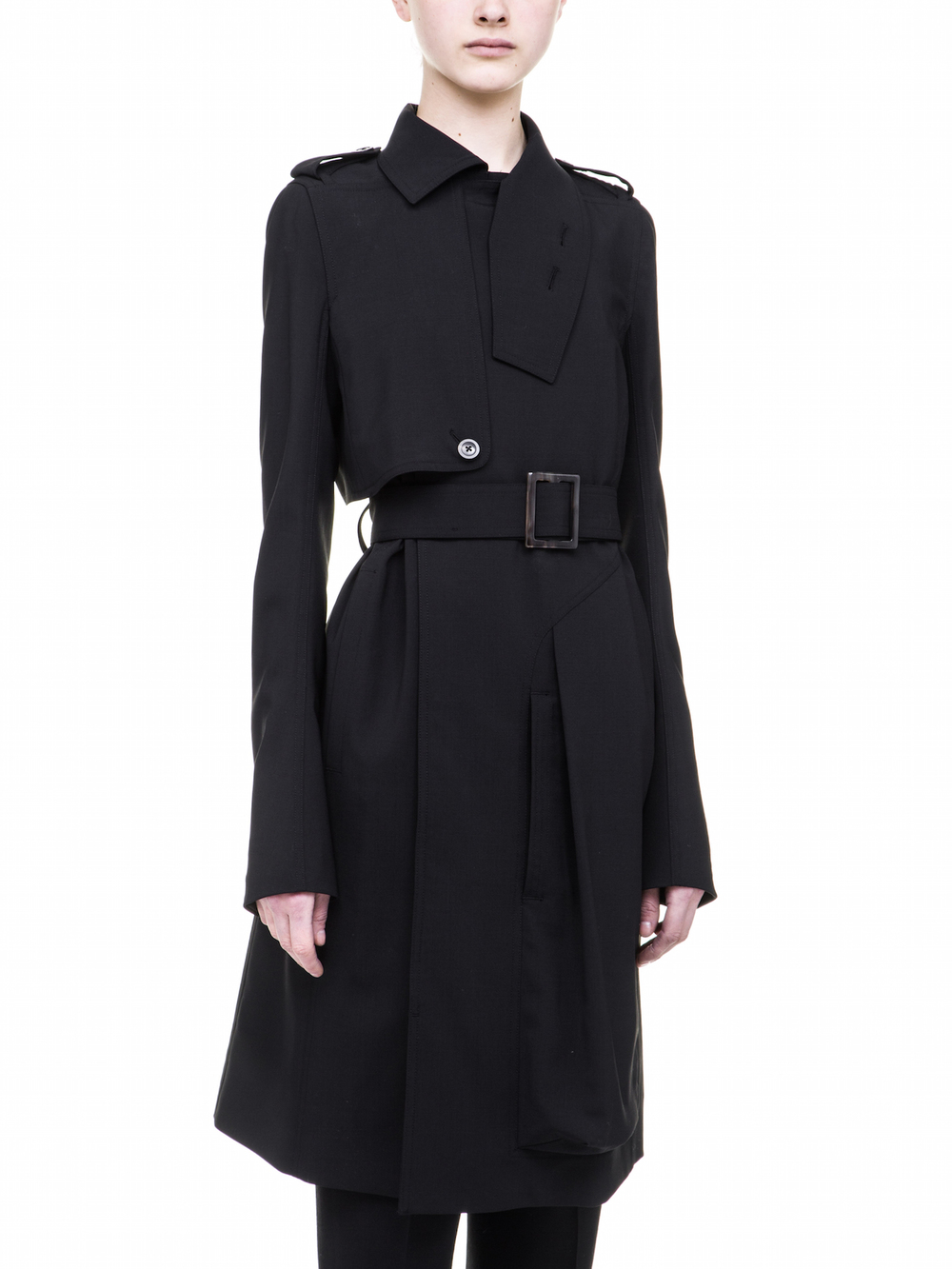 RICK OWENS  WOMENS  TRENCH