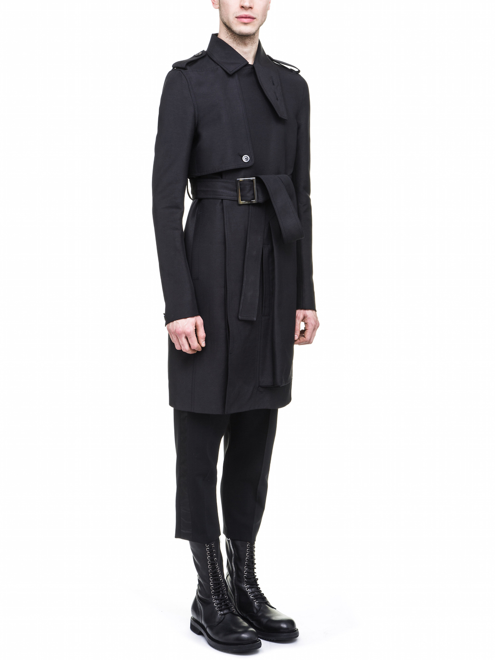 RICK OWENS CARGO TRENCH