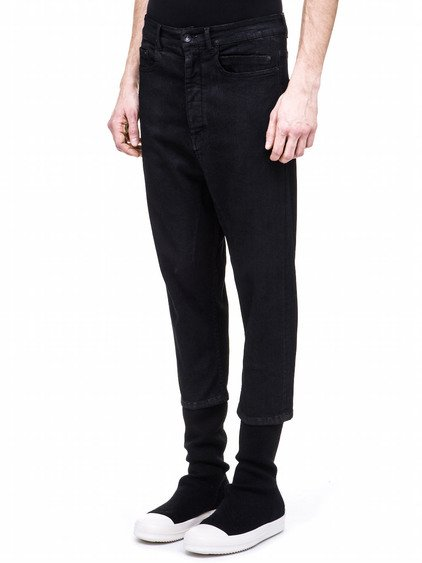 RICK OWENS CROPPED ASTAIRE PANTS