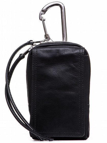 RICK OWENS CLIMBING CLIP-ON WALLET