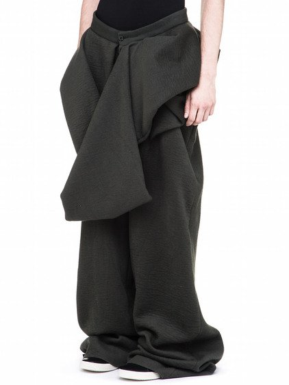 RICK OWENS WHIRLPOOLS TROUSERS