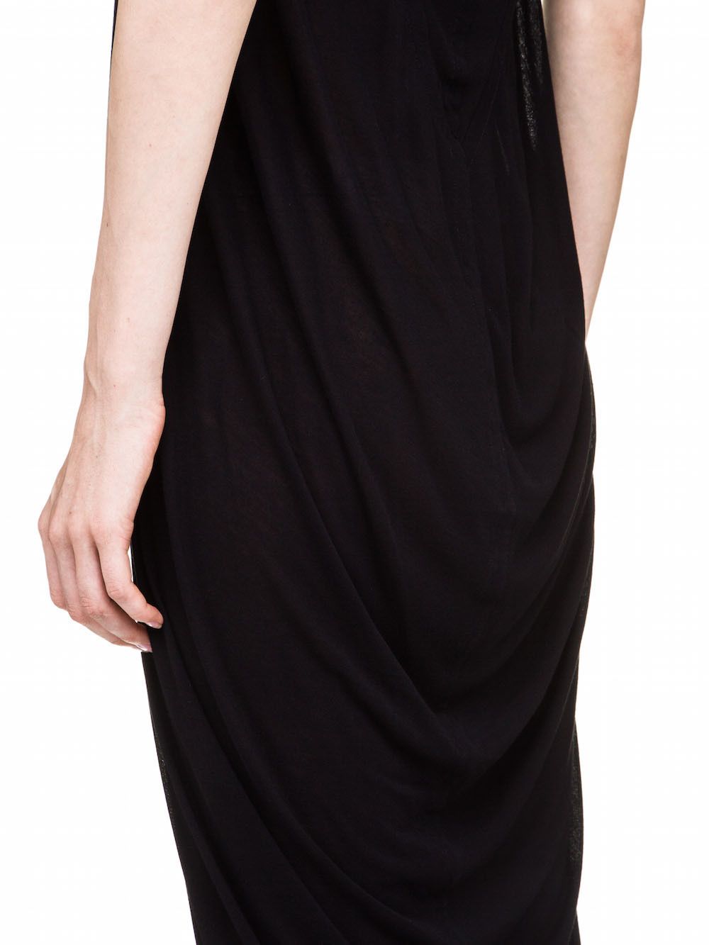 RICK OWENS V NECK DRESS