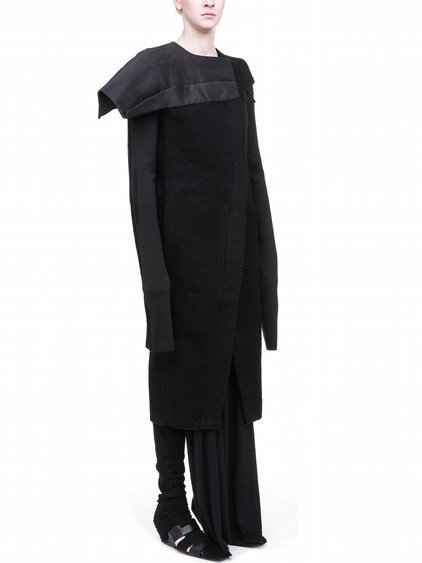 RICK OWENS OFF-THE-RUNWAY COAT