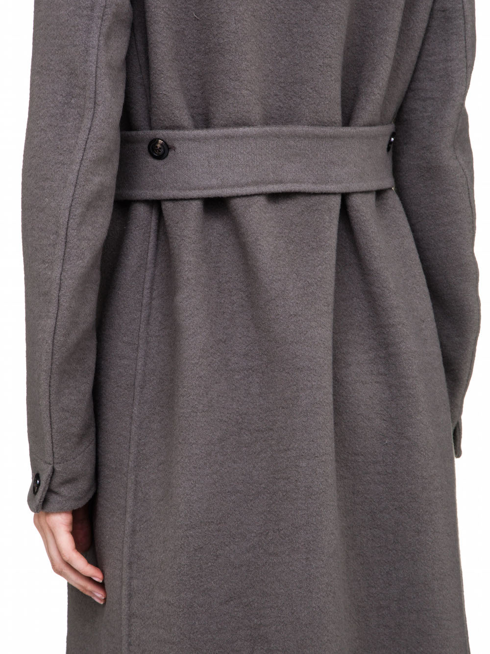 RICK OWENS COAT IN GREY