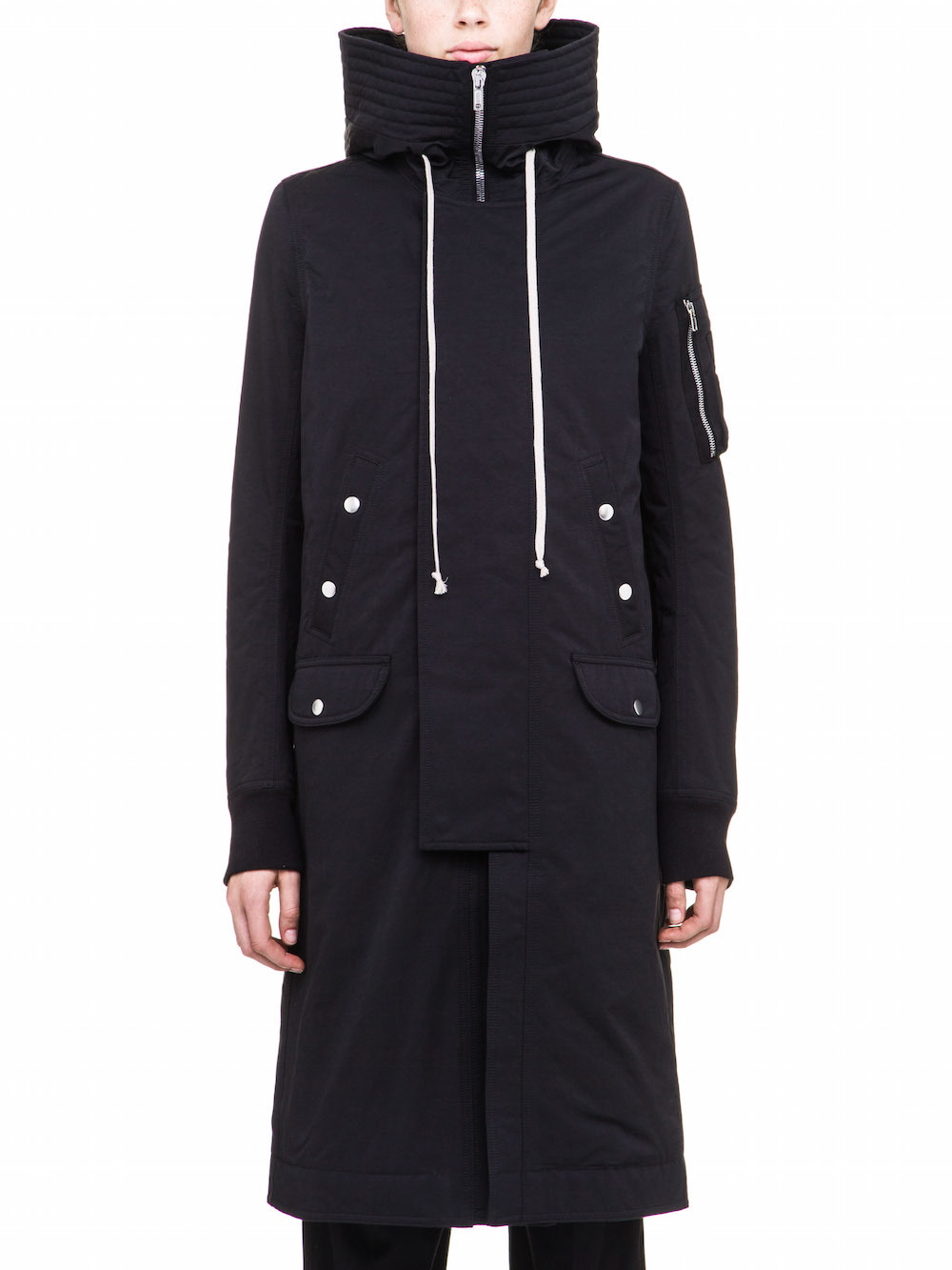 RICK OWENS HOODED BOMBER