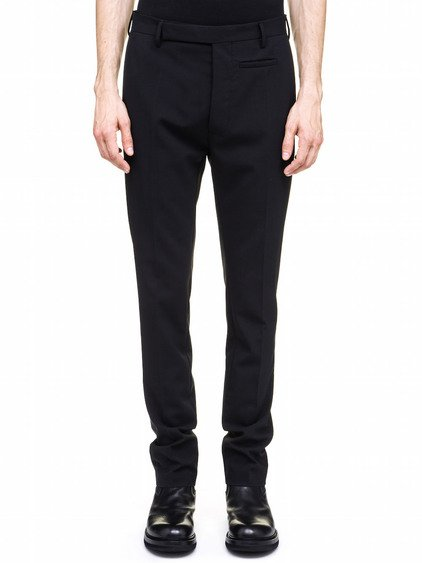 RICK OWENS DETROIT TROUSERS IN BLACK