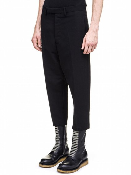 RICK OWENS  ASTAIRES TROUSERS IN BLACK