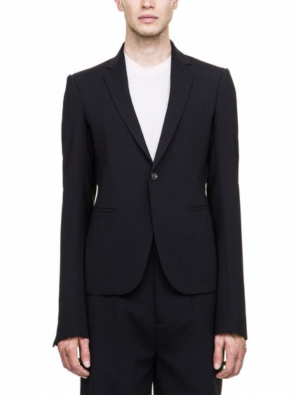 RICK OWENS BLAZER IN BLACK